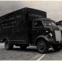 Image of Alfred M. Campbell & Son florist truck, Strafford, PA