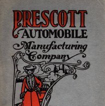 Image of Prescott Automobile Manufacturing Co. catalog/ad brochure, ca. 1904