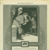 Image of Body by Fisher Christmas/Santa Claus ad, 12/19/1925