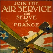 Image of 1917 poster: Join the Air Service and Serve in France