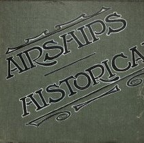 Image of Album of British and German airship photographs, 1907-1914 - Lang Collection