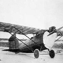 Image of Milliken M-1 airplane on Old Orchard Beach, Maine