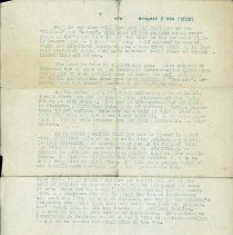 Image of US Army aviators bulletin, 1917: If forced to land behind German lines. 2