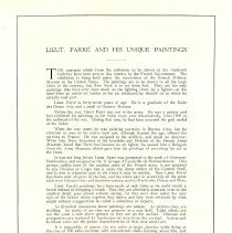 Image of Sky Fighters of France painting exhibit catalog: page 1