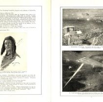 Image of Sky Fighters of France painting exhibit catalog: pages 6-7