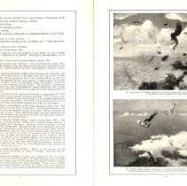 Image of Sky Fighters of France painting exhibit catalog: pages 8-9