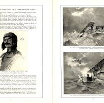 Image of Sky Fighters of France painting exhibit catalog: pages 12-13