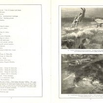 Image of Sky Fighters of France painting exhibit catalog: pages 18-19