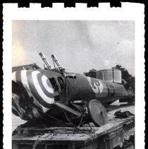 Image of Wreckage of 95th Aero Squadron plane