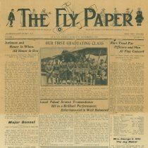 Image of The Fly Paper, American Forces in France newspaper, 9/2/1918, front page