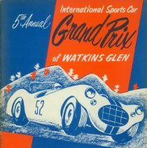 Image of Program for the 1952 Grand Prix at Watkins Glen
