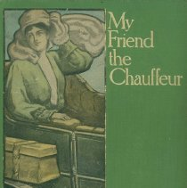 Image of My Friend the Chauffeur - front cover of book