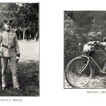 Image of London Cyclist's Battalion: walking-out dress, service dress