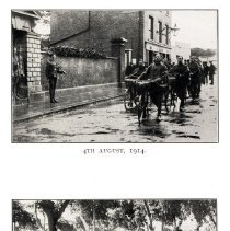 Image of London Cyclist's Battalion: August 4, 1914; 1916