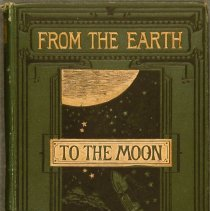 Image of From the Earth to the Moon, by Jules Verne - 1876 edition