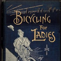 Image of Bicycling for Ladies, 1896: front cover