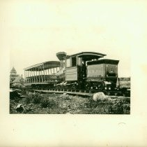 Image of 1885 Wheelmen Bicycle Tour of Maine - Green Mountain Railway train