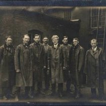 Image of Factory workers, Corbin Motor Vehicle Co., New Britain, CT, ca. 1909