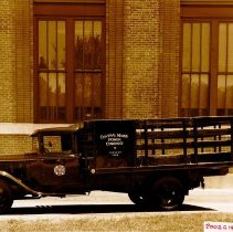 Image of Central Maine Power Company truck, n.d.
