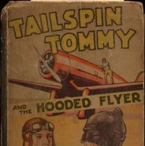Image of Tailspin Tommy and the Hooded Flyer - front cover