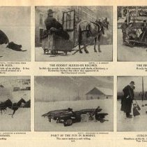 Image of 1910 snow and ice transportation and sport