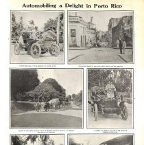 "Image of Photo essay, 1910: ""Automobiling a Delight in Porto Rico"""