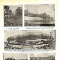 Image of Photo essay, 1910; includes Morrell airship disaster, San Francisco