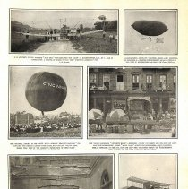 "Image of Photo essay, 1910; inc. Delagrange, balloon ""Cincinnati"", & Cromwell Dixon"