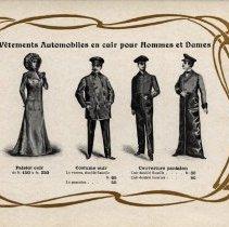 Image of Guide Pratique du Chauffeur: leather motoring garments for men & women