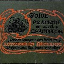 Image of Guide Pratique du Chauffeur, 1902: front cover