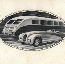 Image of 1936 Bugatti Type 57 catalog - frontispiece