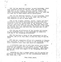 Image of Letter regarding investigation of Edmund Chamberlain (5of 5)