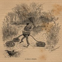 Image of Hunting via velocipede