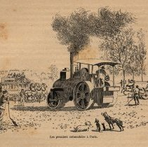 Image of The first cars in Paris
