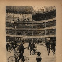 Image of At the Palais-Sport velodrome