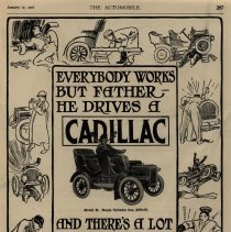 Image of Cadillac ad, The Automobile magazine, 01/11/1906