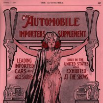Image of Supplement title page, The Automobile magazine, 01/11/1906