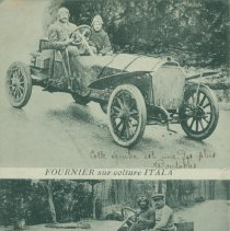 "Image of ""Itala"" automobile real photo postcard, 1908"