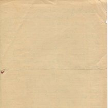Image of Letter from O. Henry to Gilman Hall, verso