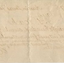 Image of Promissory note signed by W.S. Porter, verso