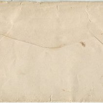 Image of Envelope addressed to P.G. Roach, Esqr., back