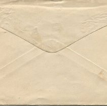 Image of Envelope addressed to P.G. Roach, Esq., back
