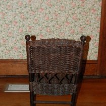 Image of Backside of rocking chair