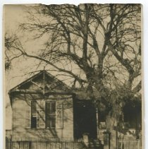 Image of O. Henry's house at its original location