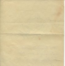 Image of Sketch and limerick attributed to O. Henry, verso