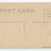 Image of Photographic postcard, front