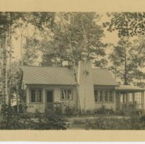 Image of Photograph of Gilman Hall's home in Maine, front