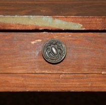 Image of Close up of drawer pull.