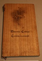 Image of Daleville College commencement invitation, May 28 - June 2, 1910 - 93.5.001