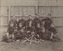 Image of Bridgewater College Special Collections - Bridgewater College (Bridgewater, Va.) baseball team, circa early 20th cent.